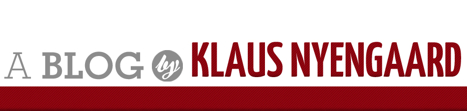 Blog by Klaus Nyengaard